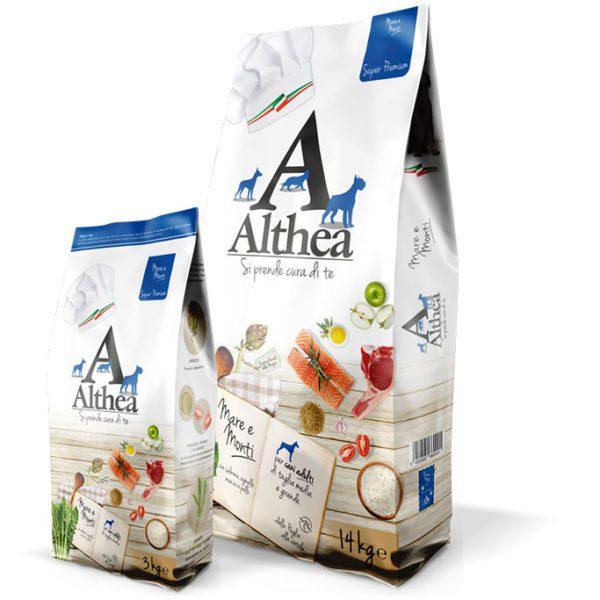 Althea Super premium Mare e Monti - Sacco 14 kg