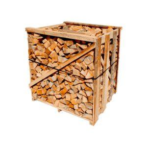 Bancale di legna italiana 95x95x95 da ardere spaccata da 40/45 cm - Cerro/Quercia